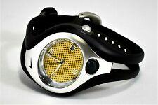 Nike Triax Swift Analog Midsize Yellow Sport Watch 100m WR New Battery