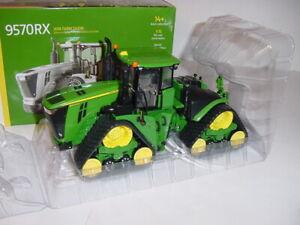 "1/32 John Deere 9570RX Trac Tractor ""Green Chase Unit""! 2018 Farm Show NIB!"