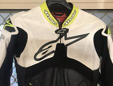 Alpinestars Atem One Piece Leather Motorcycle Race Suit Size 54