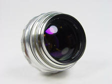 Extremely rare silver 85mm f/2 JUPITER-9 Zenit M39 M42  s/n 6601750