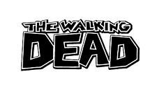 Decal Vinyl Truck Car Sticker - Zombie The Walking Dead Comic Book Logo