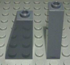 Lego Stein schräg positiv 1x2x3 new Dunkelgrau 2 Stück                     (990)