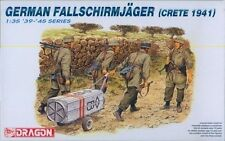 "Dragon 1/35 #6070 German Fallschirmjager ""Crete 1941"""