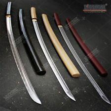 "USA STOCK 40"" Sharp Handmade Japanese Shirasaya Sword Onikiri Samurai Katana w/"