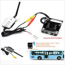DC12-24V Car Wireless AV Cable Transmitter&Receiver Reversing View Backup Camera