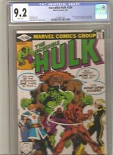 Incredible Hulk #258 CGC 9.2