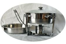Seville Classics 4 Qt Commercial Chafing Dish 18/10 S. S. # 14014