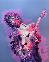 PRINT Iggy Pop Stooges Singing Portrait Poster Punk Music Rock Wall Art 11x14