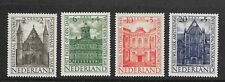 Netherlands 1948 - Summer Stamp issue - Famous buildings - MLH