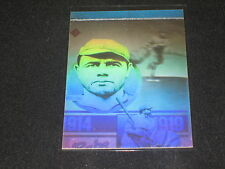 BABE RUTH YANKEES LEGEND 1992 LIMITED EDITION CERTIFIED AUTHENTIC BASEBALL CARD