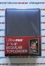 (25) Ultra Pro Regular Toploader Trading Cards Sports Cards Holder Crystal Clear