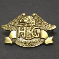 Harley Owners Group Wings Wheel HOG Harley Davidson Tack Lapel Pin Badge