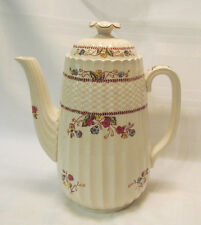 Spode England COWSLIP S713 Coffee Pot with Lid 4 Cup Beautiful REDUCED!