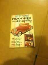 Vintage Rodding And Restyling Hot Rod Magazine September 1958