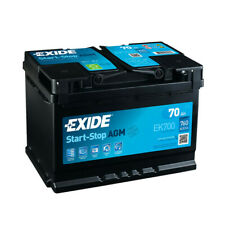 Batterie Exide AGM Start And Stop EK700 12V 70ah 760A