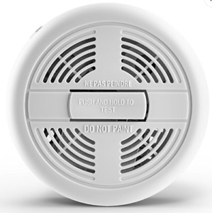 First Alert SA200 Ionisation Smoke Alarm with Test Button & 9V Battery Included