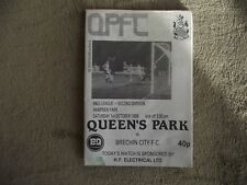 1988-89 (Mar) Queen's Park v Brechin City - Scottish Division Two