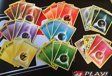 Pokemon Cards ~ 20 Card Energy Lot ~ RARE/Special Energy ~ FREE Shipping & FAST!