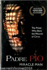 PADRE PIO MIRACLE MAN(AUDIO INGLES/ESPANOL/ITALIAN NEW DVD)