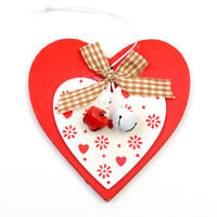 3D Cute Wooden Christmas Tree Hanging Ornament Xmas Home Garden Decoration Gift