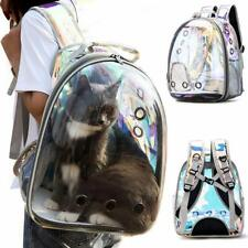 Iridescent Polarized Traveler Bubble Backpack Pet Carriers for Cats & Dogs