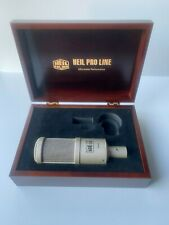 Heil Pr-40 Dynamic Cable Professional Microphone with wooden case & accesories