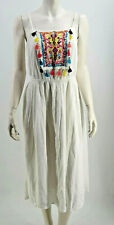 EDC by Esprit Sommerkleid Boho Ibiza Style weiß Gr. 38,40,44