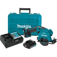"Makita SH02R1-R 12V Max CXT Inalámbrico 3 a 3/8"" Kit De Sierra Circular, 2.0Ah"
