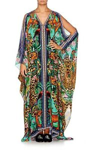 Camilla The Jungle Book Split Front & Sleeve Kaftan RRP $749