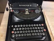 REMINGTON RAND No 5 ANTIQUE TYPEWRITER IN CASE