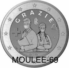 2 Euros Conmemorativos ITALIA 2021 (PREVENTA) *Profesiones Sanitarias*S/C