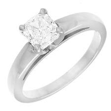 2.50 carat Natural Cushion Cut Diamond Solitaire Engagement Anniversary 18k G...