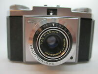 Zeiss Ikon Contina Camera with Prontor-SVS Novar-Anastigmat 45mm 1:3.5 Lens