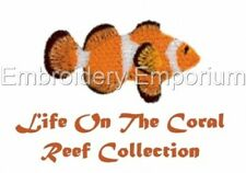 LIFE ON THE CORAL REEF COLLECTION - MACHINE EMBROIDERY DESIGNS ON CD OR USB
