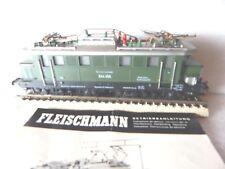 1 4330 E-44 056 DB FLEISCHMANN H0 DC in METALLO USATO COME da FOTO