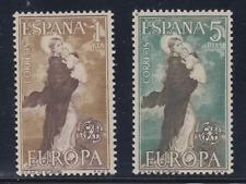 ESPAÑA (1963) MNH - NUEVO SIN FIJASELLOS SPAIN - EDIFIL 1519/20 EUROPA CEPT