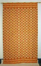 Old traditional fine handwoven cotton textile KENTE from Ghana Africa 1940's