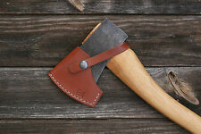 Handmade leather axe sheath for Husqvarna Hatchet