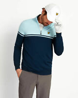 Lyle and Scott Mens Croft 1/4 Zip Pullover