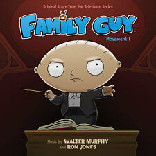 FAMILY GUY MOVEMENT 1 Walter Murphy + Ron Jones CD LA-LA LAND Soundtrack SCORE