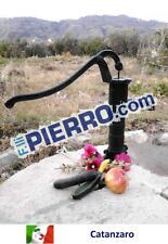 Pompa a mano pozzo decorativa elephas ghisa fontana pelican acqua manuale