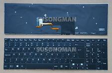 NEW for SONY SVF1521A1E SVF1521A2E SVF1521A4E Keyboard Backlit No FRA Black UK