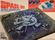 Base lunar, Alpha 1 Space: 1999 estación 1:3200 Moonbase MPC model kit mpc803