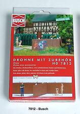 Busch HO 7812 Action-Set: Drone/FIGURE modello finito # NUOVO conf. orig. #
