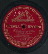pc78-Classical soprano-Victrola 87004-Geraldine Farrar