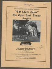 BRIGHTON. 'The Coach House' 38a Dyke Road. 1961.  property  sale  c5.474