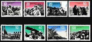 China - Chinesisch-Japanischer Krieg Satz postfrisch 1995 Mi. 2636-2643