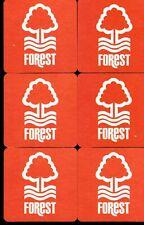 Nottingham Forest Pack of Beer Mats Postage UK
