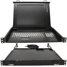 Daxten KVM Console 3149-15P 15 Zoll Display DE Keyboard QWERTZ PS/2 1U