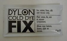 Dylon Cold Fixative box of 48 x15g packs for $19.99  FREE SHIPPING in USA